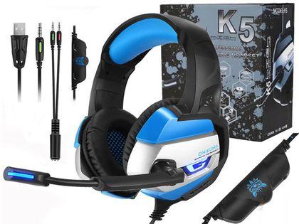 Słuchawki Gamingowe Dla Graczy LED ONIKUMA PS4 PC K5 M171