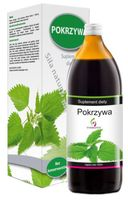 Sok z pokrzywy, pokrzywa 1000ml naturalny SYMBIOTICS witamina C