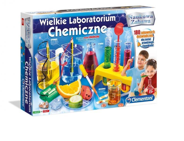 WIELKIE LABORATORIUM CHEMICZNE REKLAMA CLEMENTONI zdjęcie 1