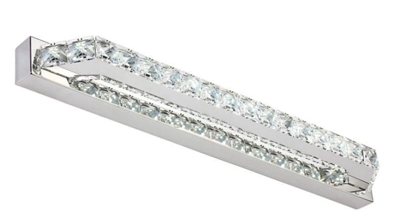 Lampa Nad Lustro Kinkiet łazienkowy Kryształki Led 40 Cm 10w 5970