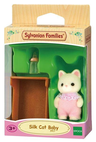 Sylvanian Families Dziecko jedwabistych kotków zdjęcie 1