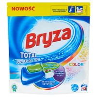 Bryza lanza total power gel caps color kapsułki do prania do koloru 42szt