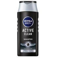 Nivea Men Active Clean Oczyszczający Szampon Do Włosów 400Ml