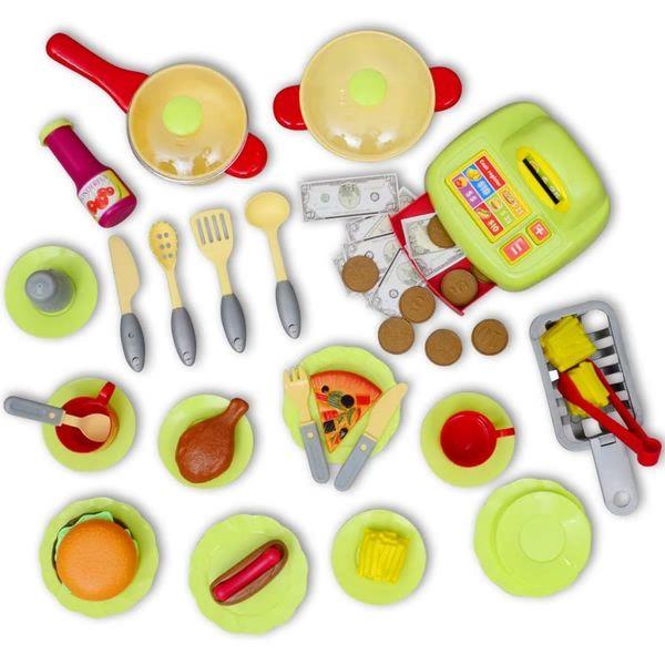 Kuchnia Dla Dzieci Duża Czerwona zdjęcie 7