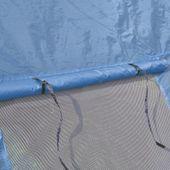 Namiot Turystyczny Dla 6 Osób, Granatowo-Niebieski zdjęcie 5