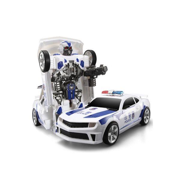 Transformers auto policja robot sterowany pilotem RC Y170 zdjęcie 1