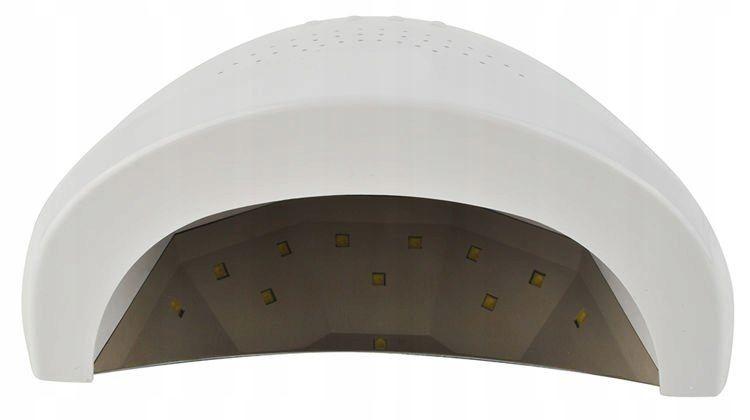 Mocna Lampa UV Dual LED Żele Hybrydy 48W SUNshine na Arena.pl