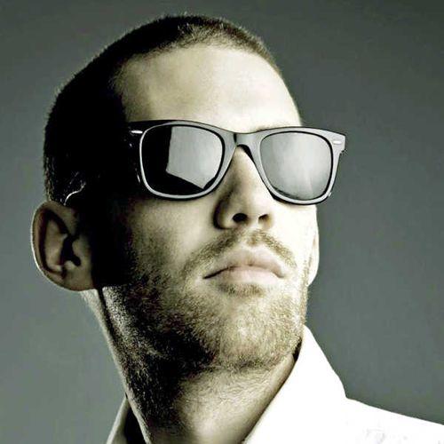 Okulary przeciwsłoneczne wayfarer nerdy męskie • Arena.pl