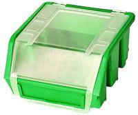 Mini Pojemnik Magazynowy Warsztatowy Ergobox 1 zielony plus Patrol