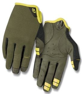 Rękawiczki męskie GIRO DND długi palec olive roz. XL (obwód dłoni 248-267 mm / dł. dłoni 200-210 mm) (NEW)
