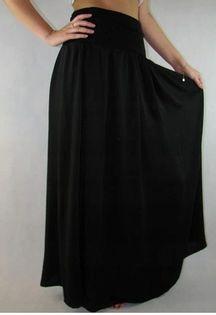 Capsule czarna długa spódnica maxi WS246 r. 58