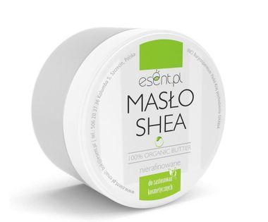 Masło Shea Organic Nierafinowane 200 ml Esent