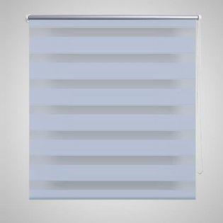 Roleta w pasy (80 x 175 cm) biała