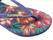 Japonki Havaianas Slim Hibisco Purple 4141590-0719 - 35/36 zdjęcie 8