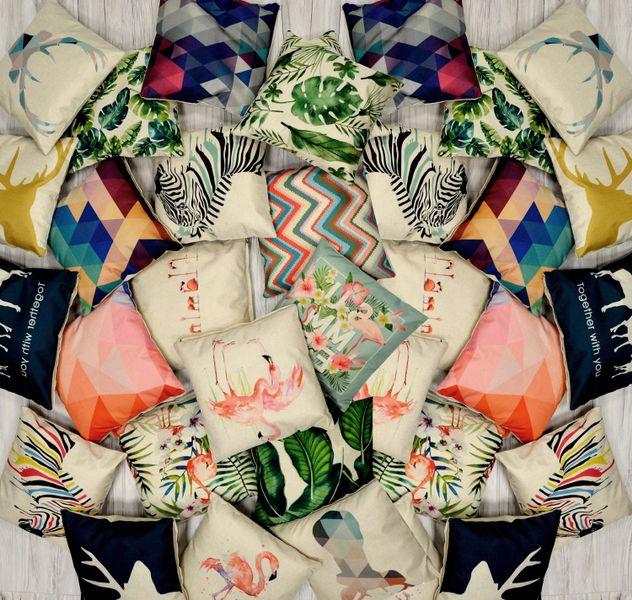 Poszewka na poduszkę 40x40 cm JASIEK LEN BAWEŁNA 24 ECOLEN  Collection zdjęcie 3