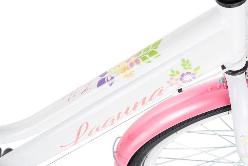Rower 24 KANDS LAGUNA VS-2 stożek biało-różowy zdjęcie 16