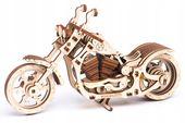 Motocykl Mechaniczne Puzzle 3D Drewniane Wooden City zdjęcie 6