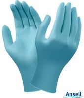 Rękawice nitrylowe atest antywirusowe 100 szt. Ansell  M i XL