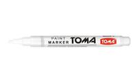 Flamaster (marker, mazak, pisak) do znakowania matek OLEJOWY - biały
