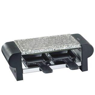 Raclette / grill stołowy dla 2 osób czarny