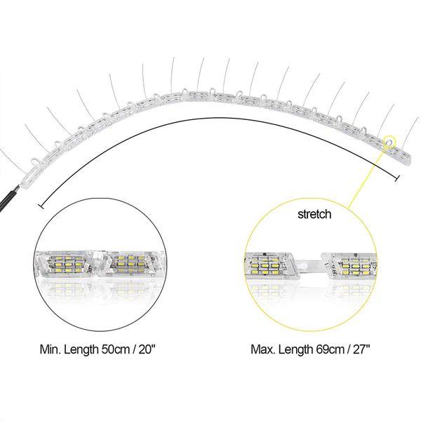 ŚWIATŁA DRL LED + płynący kierunkowskaz zdjęcie 3