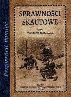 Sprawności skautowe Sedlaczek Stanisław