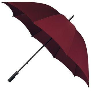 Bardzo duża, wytrzymała parasolka w kolorze bordowym