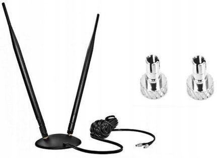 ANTENA DUAL LTE 10dBi Huawei ZTE TS5 E3372 E3272