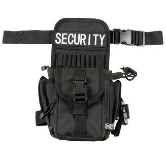 """Saszetka z mocowaniem na biodro i udo """"Security"""" czarna"""