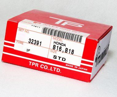 Pierścienie tłokowe TPR 32391, Honda Civic / Integra  B-seria B16, B18 ( STD 81,00mm )