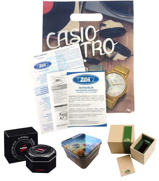 Zegarek Casio G-SHOCK GA-100-1A4ER 20BAR hologram zdjęcie 2