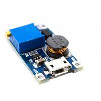 Przetwornica 2A DC-DC step-up LM2577 z USB dla Arduino STM32