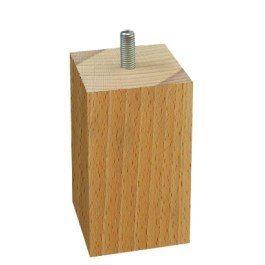 Noga meblowa BUKON 10x5,5x5,5cm drewno bukowe fra
