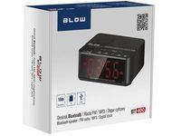 Głośnik Bluetooth FM + budzik Blow BT400