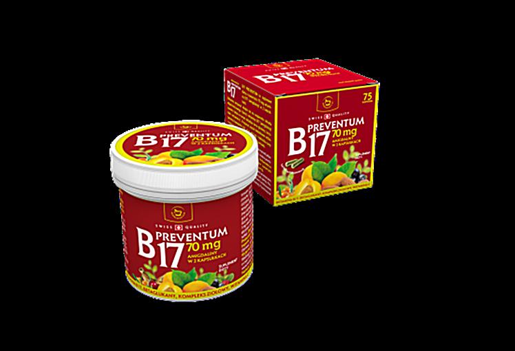 Witamina B17 amigdalina 70 mg 75 kaps szwajcarska na Arena.pl