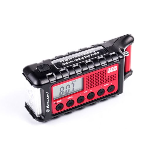 Midland ER300 RADIO ALARMOWE AM/FM OUTDOOR POWER BANK SOLAR na Arena.pl