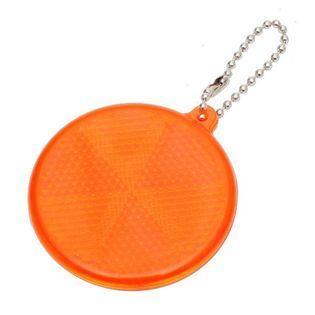 Światełko odblaskowe Circle Reflect, pomarańczowy