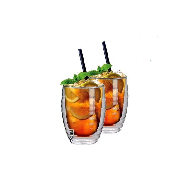 Szklanki Termiczne do Napojów Soków Ice Tea 2szt zdjęcie 1