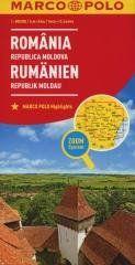 Mapa ZOOM System.Rumunia,Mołdawia plan miasta praca zbiorowa