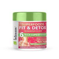 Intenson Superfoods Fit & Detox Elixir Koktajl Błonnikowy Suplement Diety 135G