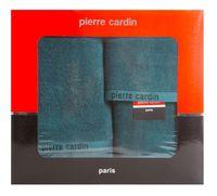 Komplet ręczników 3 szt. EVI Pierre Cardin ciemny turkus