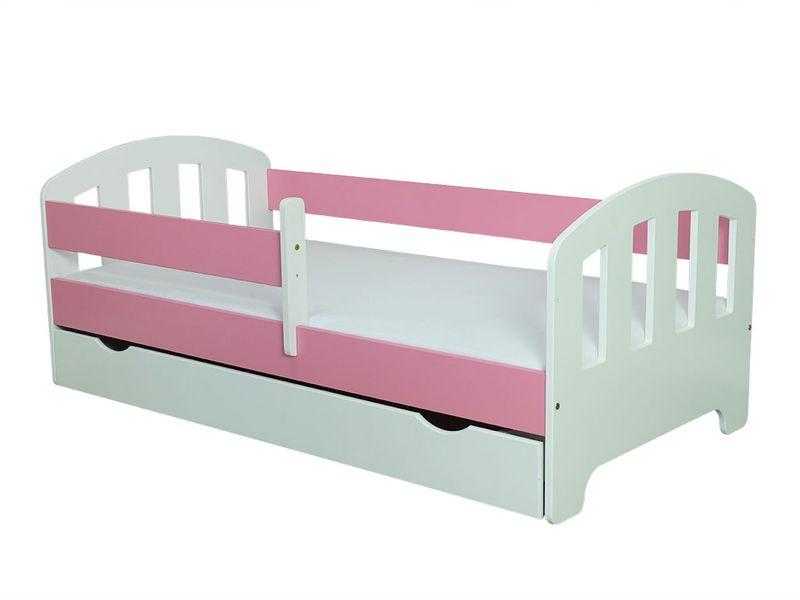 Łóżko FIFI 140x80 + szuflada + barierka zabezpieczająca + MATERAC zdjęcie 16