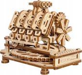 Silnik V8 Mechaniczne Puzzle 3D Drewniane Wooden City