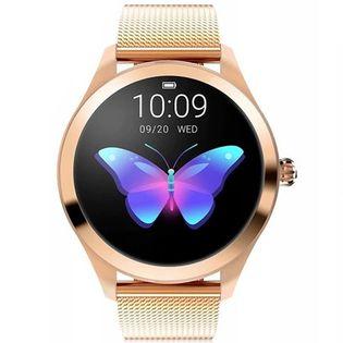 Zegarek damski SMARTWATCH RUBICON - RNBE37 - Różowozłoty