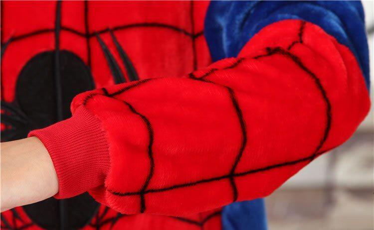 PIŻAMA KIGURUMI ONESIE SPIDERMAN PAJĄK  M zdjęcie 11