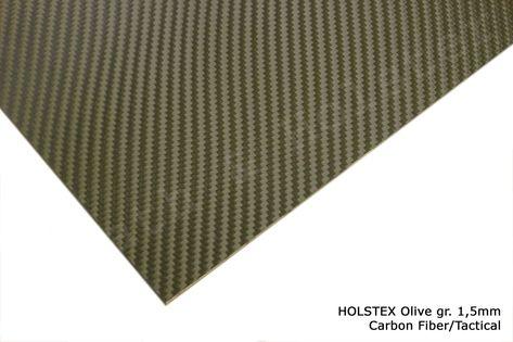 HOLSTEX Carbon Olive - 150x200mm gr. 1,5mm