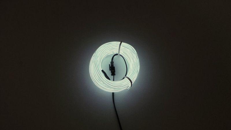 Światłowód EL WIRE Ambient Taśma LED 5m biały zdjęcie 9