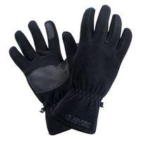 Męskie rękawiczki zimowe Hi-Tec Bage polarowe czarne rozmiar L/XL