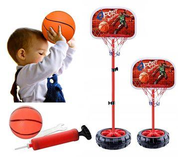 Zestaw do koszykówki dla dzieci gra koszykówka z piłką 60-120cm Y103