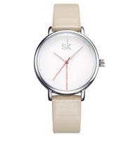 Zegarek damski SK na beżowym pasku